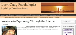 image of psychology through the internet site
